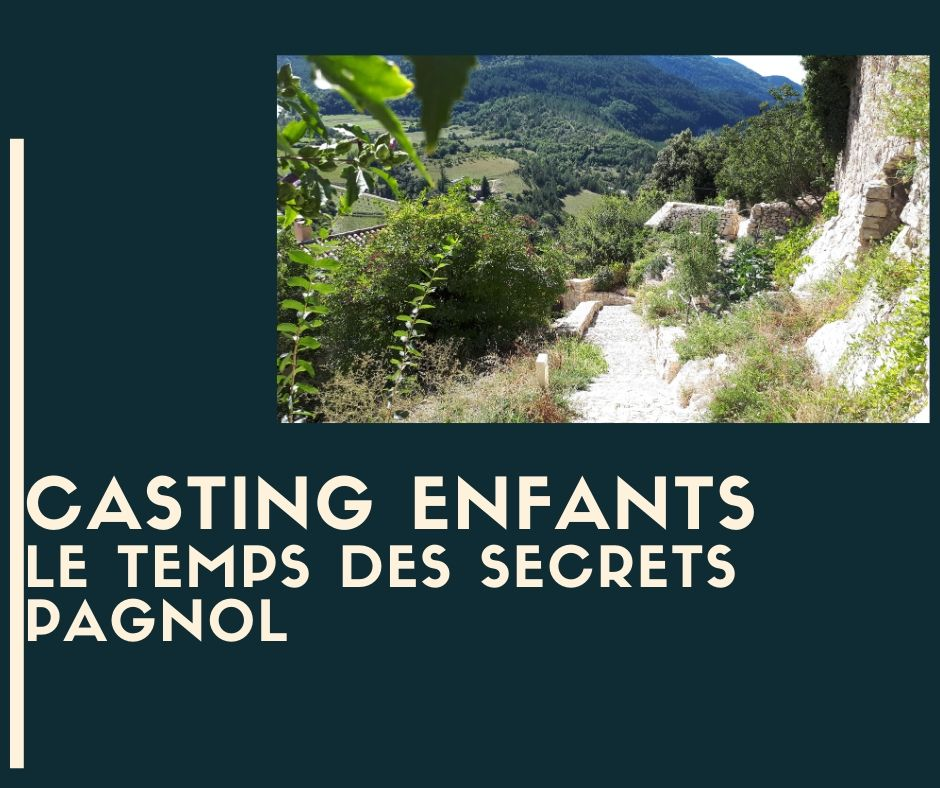 Casting Enfants Vaucluse