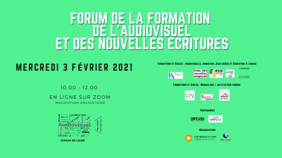 3ème Forum de la Formation de l'Audiovisuel et des Nouvelles Ecritures