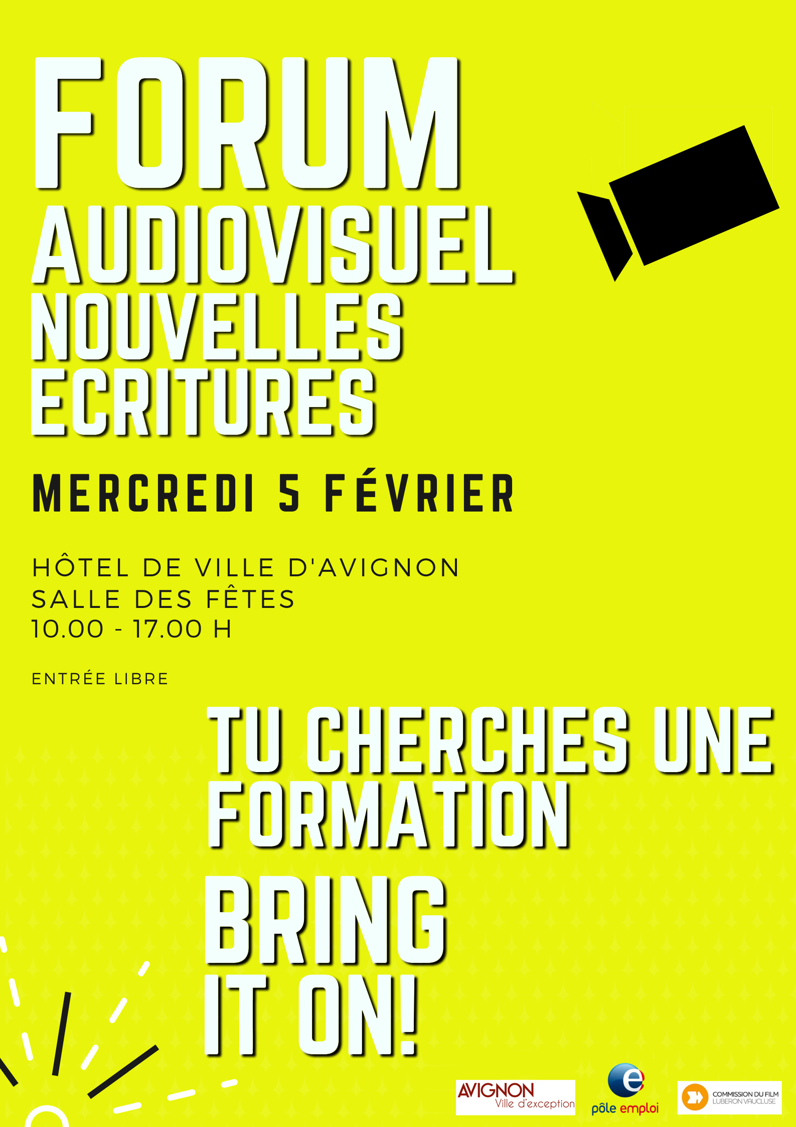 2nd Forum des Ecoles et de la Formation de l'audiovisuel