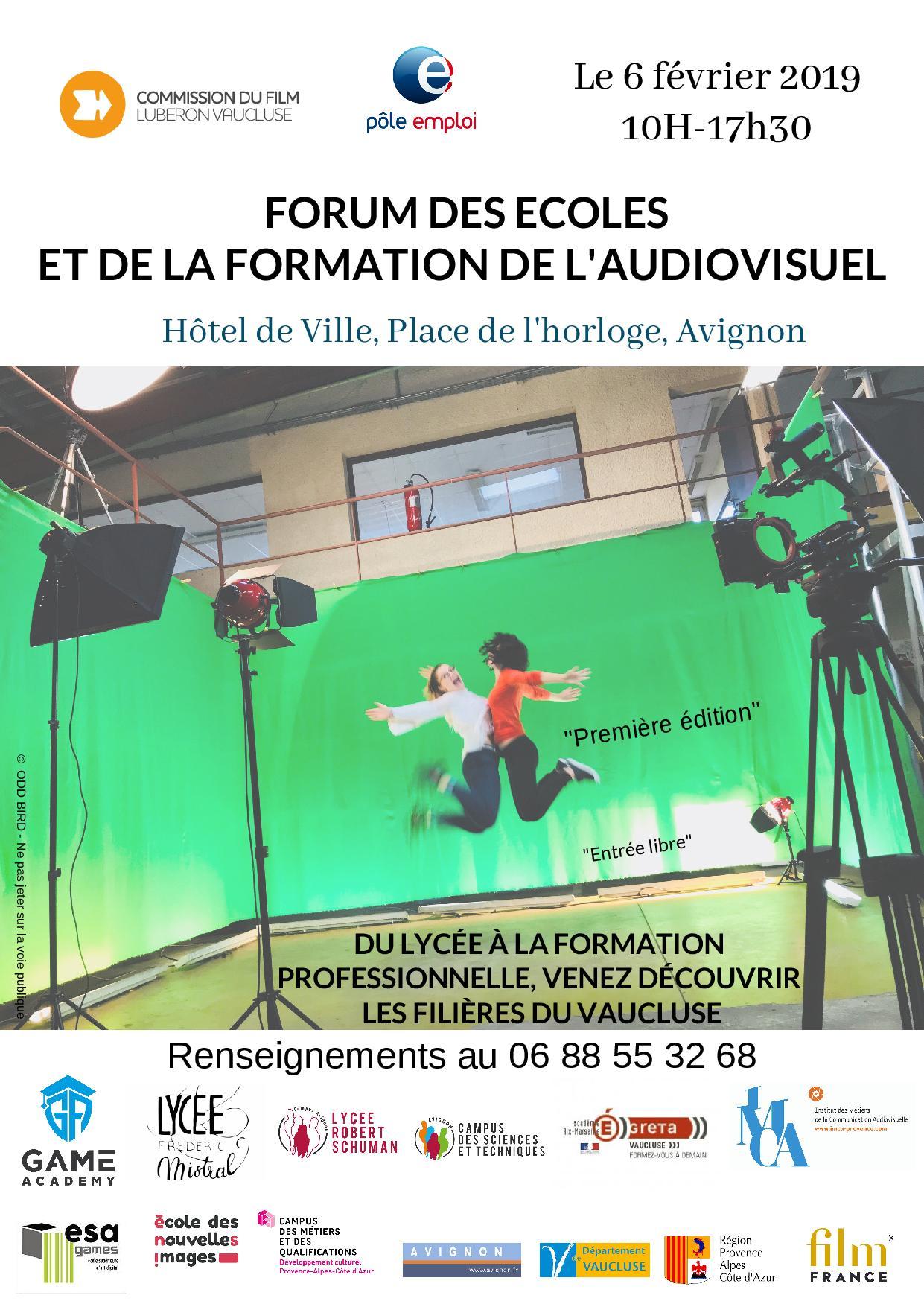 1er Forum des Ecoles et de la Formation de l'audiovisuel