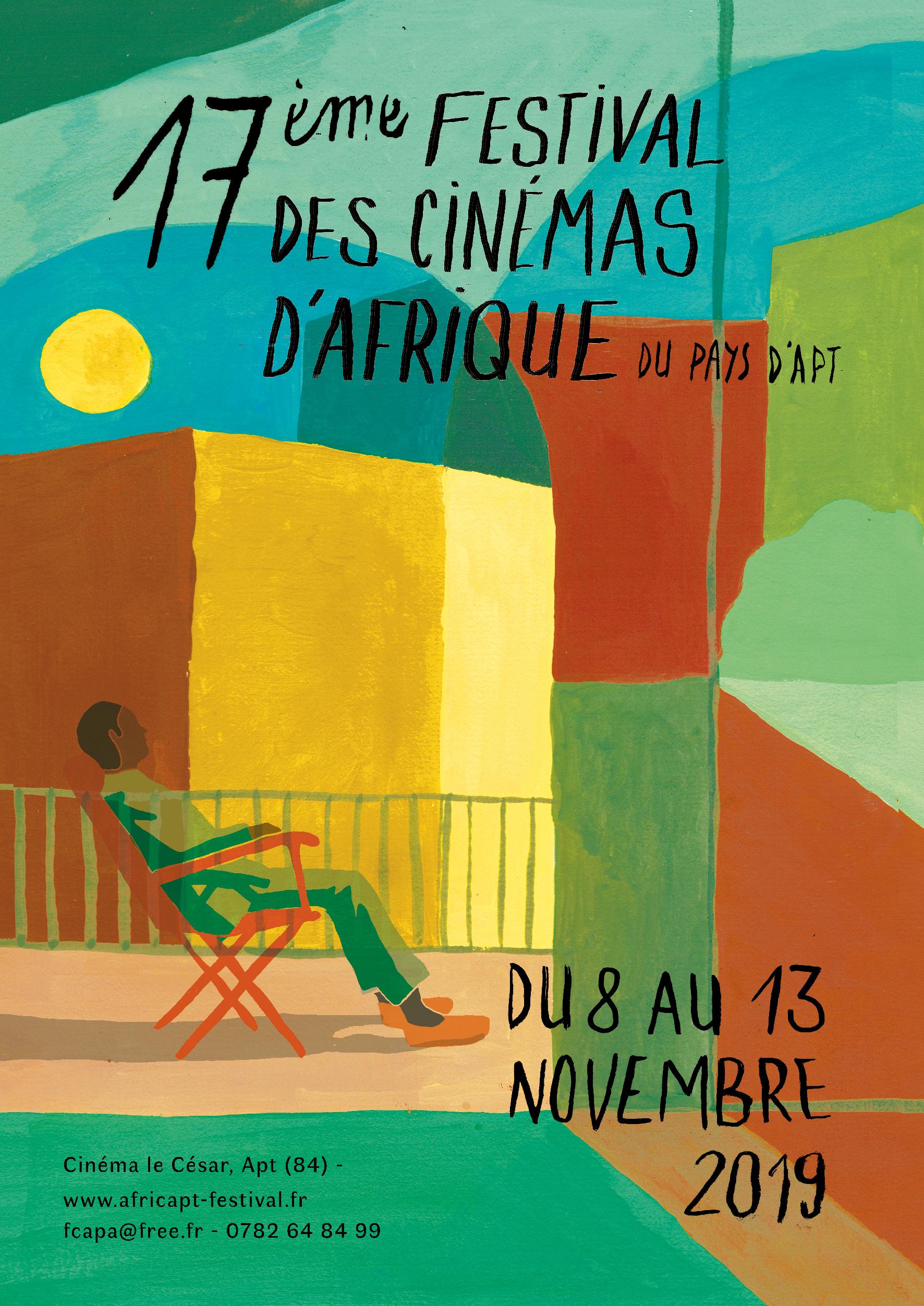 17e Festival des cinémas d'Afrique du pays d'Apt